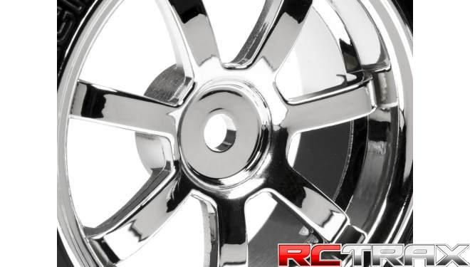 Rays 57S-Pro Wheel 26mm Chrome HPI Racing 4739 T-Drift Tire Toys ...