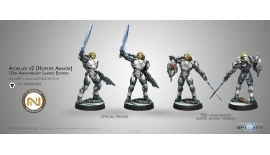 ACHILLES V2 (HOPLITE ARMOR) 10th ANNIVERSARY LIMITED EDITION