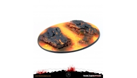 Thor Miniatures Bases Lava 90x120 #1