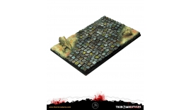 Thor Miniatures Bases Stone Pavement 100x150