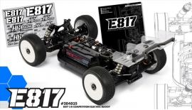 Buggy HB Racing E817 1:8 4WD KIT