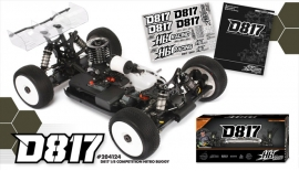 Buggy HB Racing D817 1:8 4WD Competition Nitro KIT