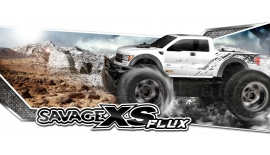 HPI 115125 SAVAGE XS FLUX RTR WITH FORD RAPTOR BODY