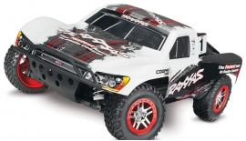 TRAXXAS 1/10 4X4 SLASH RACE TRUCK 6804R Platinum Edition Paint Body Short Course